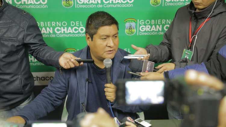 El ejecutivo regional José Quecaña. Foto Archivo