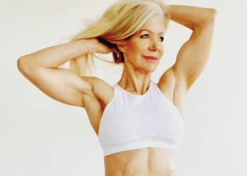 Lesley Maxwell comenzó a ejercitar su cuerpo a los 48 años y desde entonces no ha parado (Foto: Instagram @lesleymaswell.fitness)