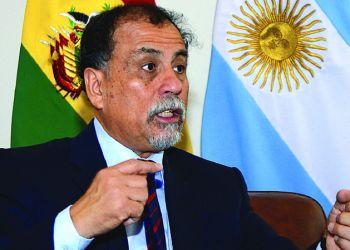 El exembajador de Argentina en Bolivia, Normando Álvarez. Foto Archivo.