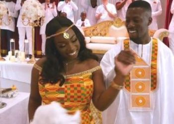 Ref. Fotografia: Angela y Geoffrey nacieron en Reino Unido, pero la familia de ambos es de Ghana. Foto: BBC