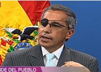 Representante de la OPS/OMS, Alfonso Tenorio