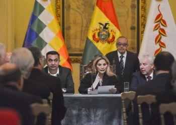 Ex presidenta Jeanine Añez. Foto Archivo