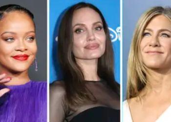Rihanna, Angelina Jolie y Jennifer Aniston se distanciaron de sus padres.