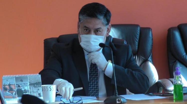 El Fiscal General, Juan Lanchipa