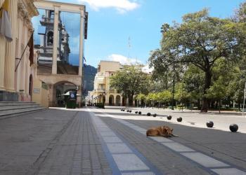 Ciudad de Salta en cuarentena