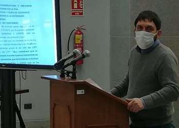 El viceministro de Transparencia Institucional y Lucha Contra la Corrupción, Guido Melga