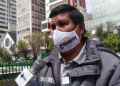 Presidente de la Confederación Nacional de la Micro y Pequeña Empresa (Conamype), Agustín Mamani. Foto- Éxito Noticias