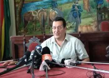 Foto archivo, Alfonso Lema, Alcalde de Tarija