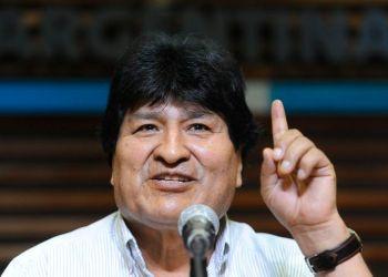 El expresidente boliviano Evo Morales en Buenos Aires (Argentina). EFE/Enrique García Medina