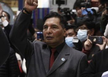 Adrian Quelca, Ministro de educación