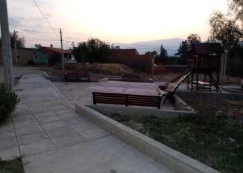 Parque en zona de San Luis