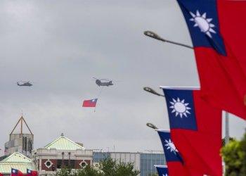 10/10/2020 Imagen de archivo de banderas de Taiwán. POLITICA ASIA NORTEAMÉRICA ASIA TAIWÁN ASIA ESTADOS UNIDOS CHINA INTERNACIONAL BRENNAN O'CONNOR / ZUMA PRESS / CONTACTOPHOTO