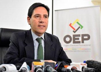 El ex presidente del TSE, Salvador Romero.