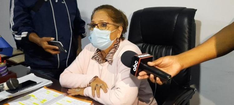 Estela Veizaga, Alcaldesa interina.