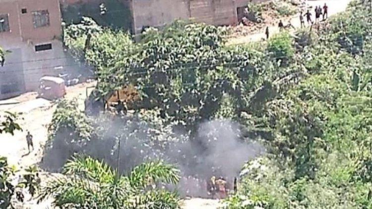 Imagen de los presuntos disturbios en Mapiri, este sábado. Foto: Facebook (Radio Activa Guanay 105.4 Fm)