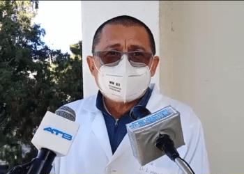 Roberto Mérida, jefe de la UTI del Hospital San Juan de Dios de Tarija.
