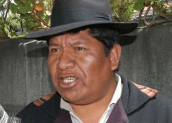 Exdirigente de la COR de El Alto, Roberto de la Cruz