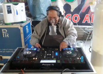 Víctor Hugo Arispe tiene 52 años y está en el rubro de la amplificación desde los 7
