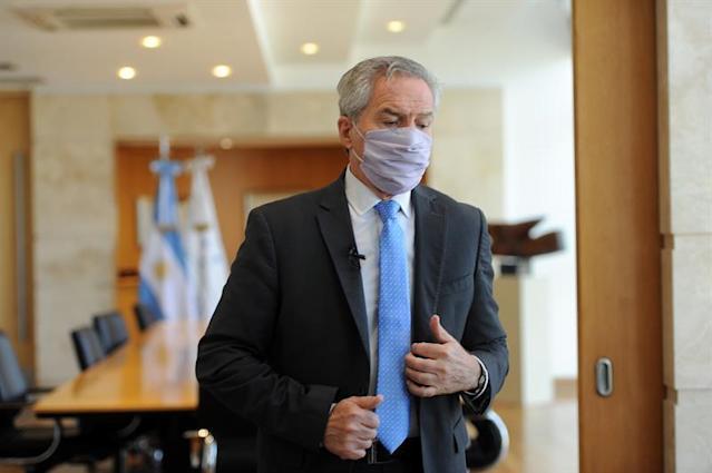 El canciller argentino Felipe Solá