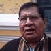Roberto de la Cruz, exdirigente de la Central Obrera Regional (COR) de El Alto