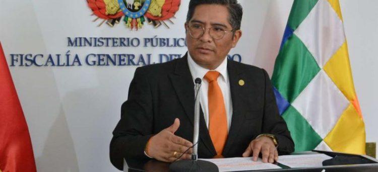 Secretario general de la Fiscalía, Edwin Quispe