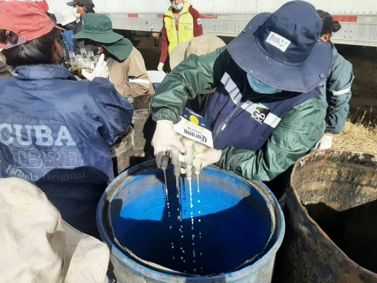 La mercadería está valuada en 108 millones de bolivianos aproximadamente.