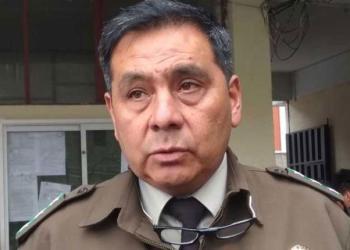 Iván Rojas, exdirector de la Felcc