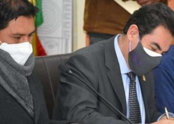 Manfred Reyes Villa, alcalde de la ciudad Cochabamba