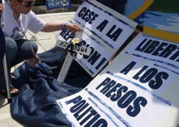 Protesta exige la liberación de los opositores nicaragüenses. | Foto archivo | EFE