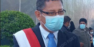 El Gobernador Oscar Montes