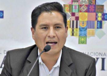 El ministro de Salud, Jeyson Auza. APG