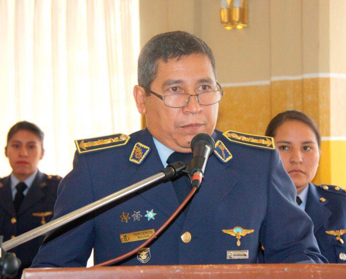 Excomandante de la FA, Jorge Terceros