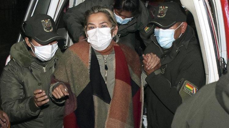 Expresidenta Jeanine Añez