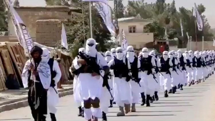 Combatientes talibanes en la provincia de Zabul, Afganistán. 19 de agosto de 2021. REUTERS