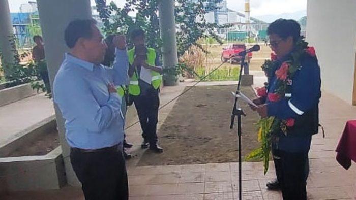 Ex Fiscal Guerrero, en su posesión. TOMADA DE ERBOL