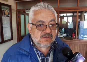 El ex rector, Gonzalo Gandarillas.