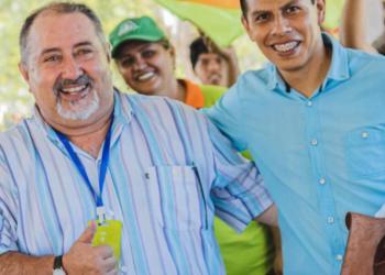 Juan Carlos Castillo, excandidato a alcalde, con el ahora concejal, Daniel Requena.