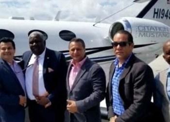 De izquierda a derecha, Christian Sanon, Arcángel Pretel, y Antonio Intriago. Foto: Unidad Investigativa del periódico El Tiempo publicado por Univisión.