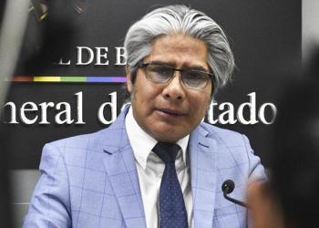 El procurador del Estado, Wilfredo Chávez
