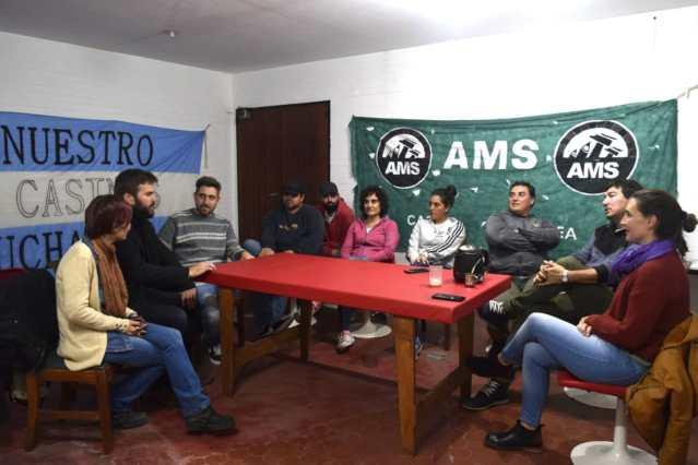 ELECCIONES 2019: Rodrigo Blanco se reunió con dirigentes políticos y sindicales en Necochea