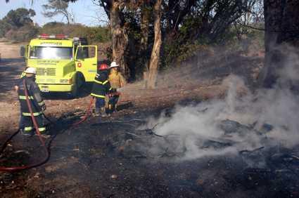 Guardaparques se refuerza ante los primeros focos de incendio