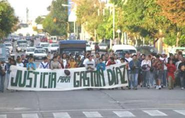 MEMORIA: El recuerdo para Gastón Díaz