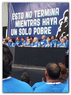 DIA DE LA MILITANCIA: Lescano y Gómez en 4to Congreso del Evita