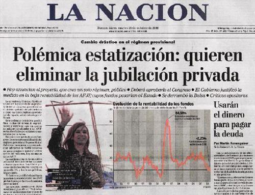 DEUDA MILLONARIA CON LA AFIP: Con los $330 millones que el diario La Nación debe a la AFIP se podría fortalecer la inversión social