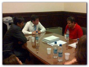 NECOCHEA: El Director del Servicio de Oncología municipal y el concejal Marcelo Ordoqui se reunieron con Mariotto.