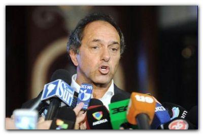 EDUCACIÓN: Dijo Scioli que «Están garantizadas las clases, el lunes las escuelas estarán abiertas»