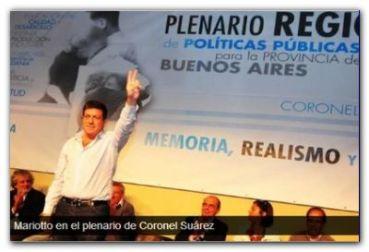 POLÍTICA: Mariotto encabezó un plenario de políticas públicas en Coronel Suárez