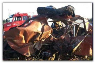 ACCIDENTE: Ocho muertos y un herido muy grave en un accidente en San Pedro