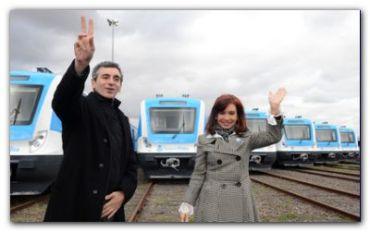 """POLÍTICA: """"Los trenes son del pueblo argentino"""", afirmó la Presidenta al presentar nuevas formaciones del Sarmiento"""