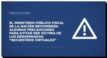 SECUESTROS VIRTUALES: Recomendaciones del Ministerio Público para evitar ser víctima